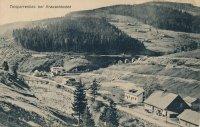 Labská přehrada - historie - Krausovy boudy Špindlerův Mlýn