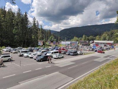 Parkering i Špindlerův Mlýn