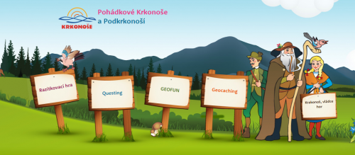 Fun for children: Stamping game In the footsteps of the Krakonoš. Have fun and win!