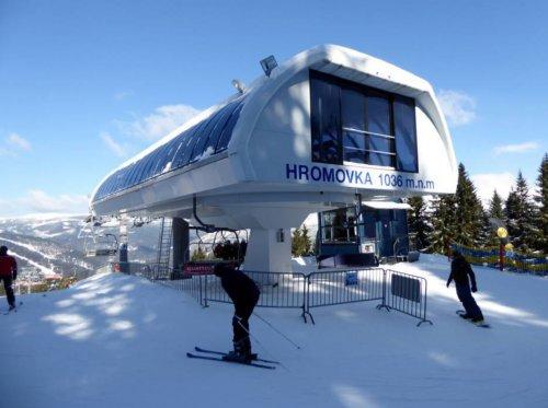 Skigebiet Hromovka - Svatý Petr