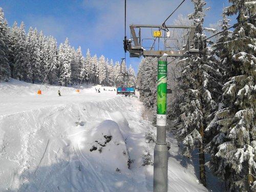 Skiareál Labská - Špindlerův Mlýn