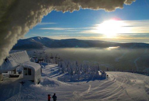 Skigebiet Medvědín - Špindlerův Mlýn