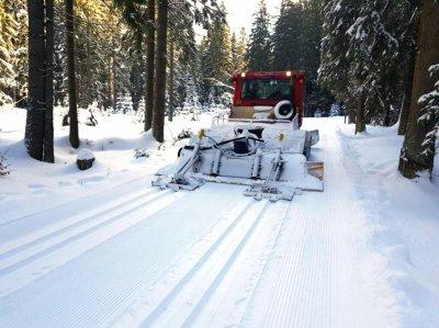 Běžkařská trasa v Krkonoších: Relaxačně - sportovní trasa Buď fit - Špindlerův Mlýn