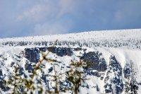 Labský důl - Pančavský vodopád v zimě