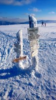 Zimní Pramen Labe - foto Michal Klapka