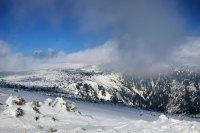 Lasbská louka - zimní výlet