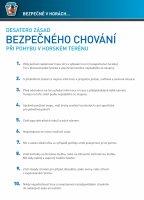 Desatero zásad chování na-horách