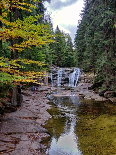 Ausflug zu den Mumlava Wasserfällen