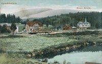 Historie - Špindlerův Mlýn - hotel Savoy a Hubertus