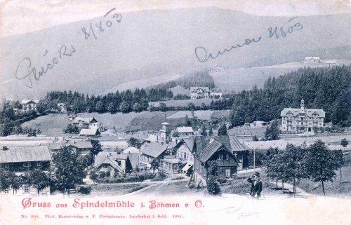 Geschichte von Špindlerův Mlýn