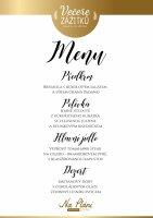 Menu: Večeře zážitků Na Pláni - Špindlerův Mlýn