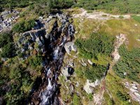 Pančavský vodopád - Špindlerův Mlýn v Krkonoších
