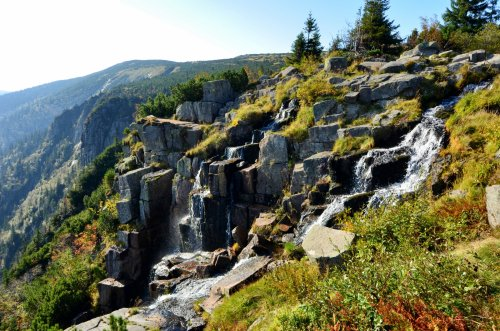 Pančavský vodopád - nejvyšší vodopád v ČR