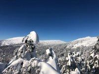 Pohled z Ptačích kamenů - skialpy Špindlerův Mlýn - © foto Ella KOONY Photographer