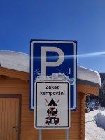 Parkoviště P1 - Bedřichov
