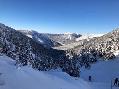 1. TIP Skialpy & Skitouring: Circuit Svatý Petr - Stoh - Výrovka - Dlouhý důl - Svatý Petr