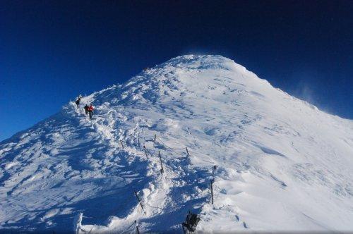 6. TIPP zu den Skialpen von Pec pod Sněžkou - Riesenmine - Riesenhütte - Sněžka - Růžová hora - Pec pod Sněžkou