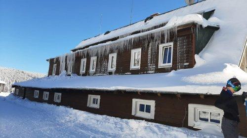 8. TIPP für Ski-Alpen rund um Rokytnice: Brennende Häuser - Zadní Plech - Krakonoš Frühstück - U Čtyř pánů - Garten Růženčina - Kotelské sedlo - Rokytnice