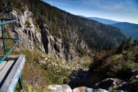 Labský vodopád v Krkonoších - Špindlerův Mlýn
