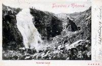 Labský vodopád - historie