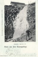 Labský vodopád a Labská bouda- historie