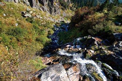 Wodospad Łaby - Szpindlerowy Młyn - Karkonosze
