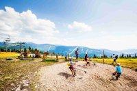 Dětské hřiště na Medvedíně