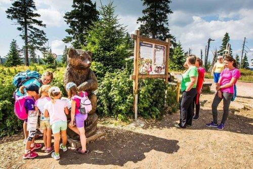 Kinder, Vorsicht! Spindlmans Mission! Eine aufregende Reise von Medvědín voller Rätsel und Aufgaben