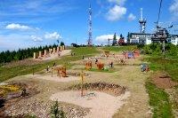 Dětské hřiště na Medvědíně
