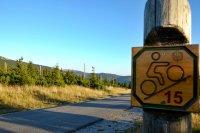 Cyklovýlet přes Petrovku na Moravskou boudu, Sedmidolí a Davidovky