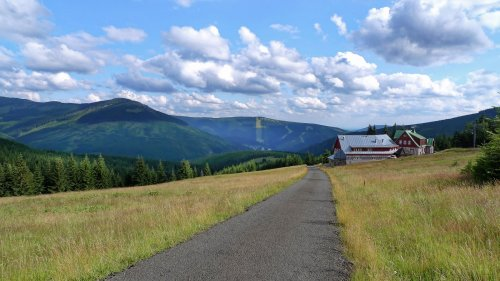 Cykeltur gennem Petrovka til Moravská bouda, Sedmidolí og Davidovky