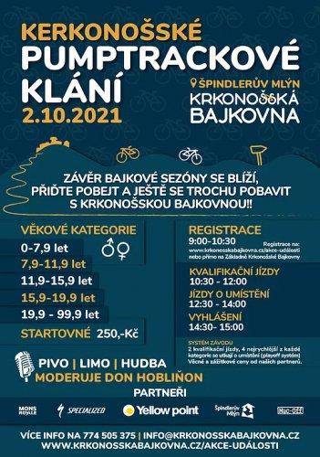 2.10.2021 - Kerkonošské PUMPTRACKOVÉ KLÁNÍ