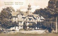 HOTEL SAVOY Špindlerův Mlýn - history