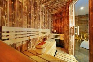 Unterkunft - Wellness Hotel Olympie - Špindlerův Mlýn - Riesengebirge - sauna