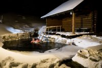 Sauna - Dvořákova bouda - Špindlerův Mlýn - Krkonoše