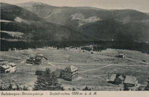 History - Dvořákova bouda - Špindlerův Mlýn - Krkonoše