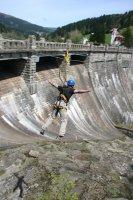 Zip-line Špindlerův Mlýn - Labská dam