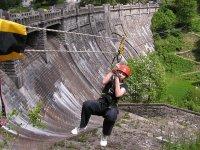 Zip-line Špindlerův Mlýn - Labská přehrada
