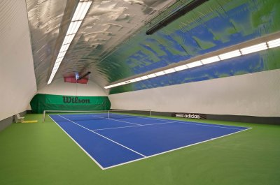 Indoor tennis hall - Harmony