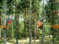 Lanový park MonkeyPark - Špindlerův Mlýn