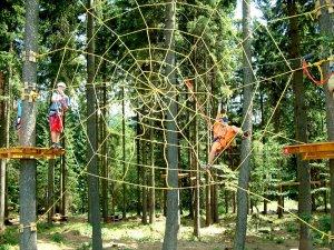 Monkey Park Szpindlerowy Młyn Park linowy