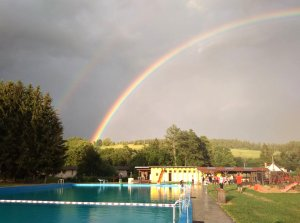 Open-air swimming pool - Mříčná