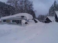 Autocamp - karavan -Spindleruv Mlyn - Reuzengebergte