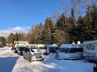 Autokemp Špindlerův Mlýn - Krkonoše - zima