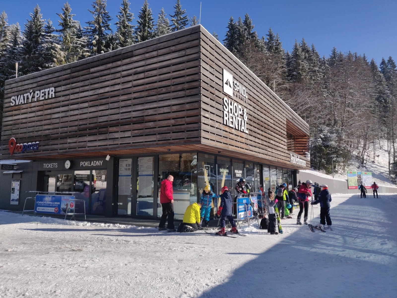 Wypożyczalnia snowboardów Melida - Spindl Motion Rental