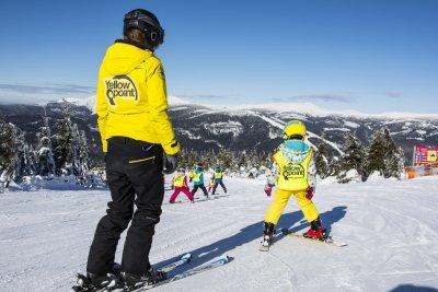 Půjčovna lyží - Yellow point