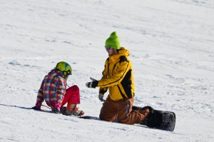 Yellow point Snowboard leje