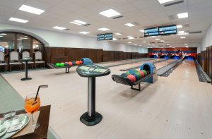 Unterkunft - Wellness Hotel Windsor - Špindlerův Mlýn - Riesengebirge - bowling
