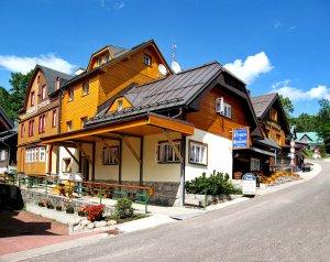 Ubytování - Pension U Komárků - Špindlerův Mlýn - Krkonoše - léto