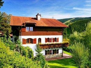 Ubytování - Pension Monte Rosa - Špindlerův Mlýn - Krkonoše - léto